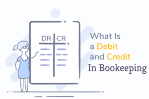 debit and credit in bookkeeping
