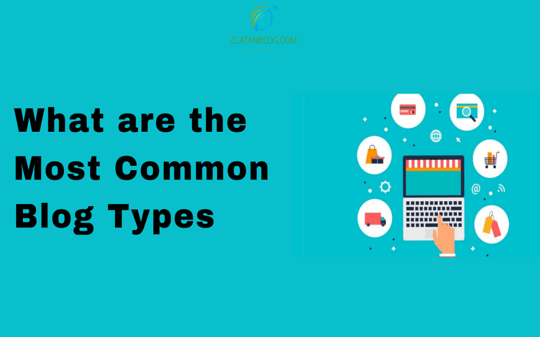 What are the most common blog types?