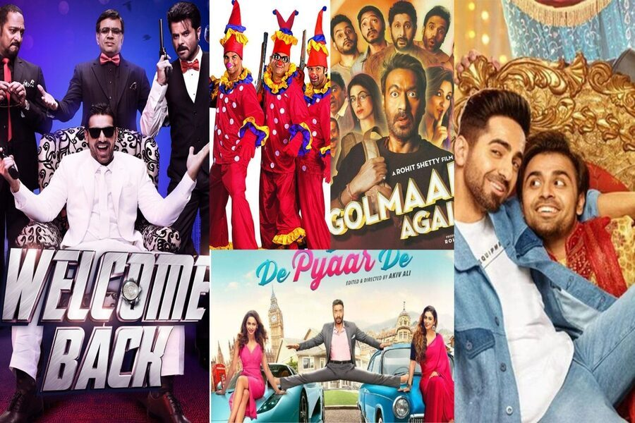 Best Bollywood Comedy Movies from 2015 to 2020